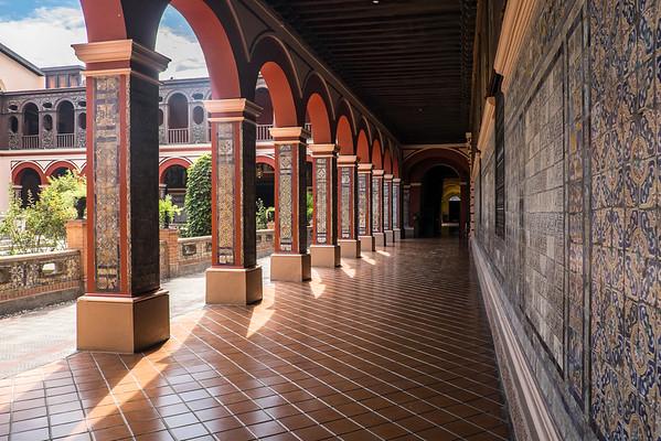 Monastere de Santo Domingo, Lima, Perou