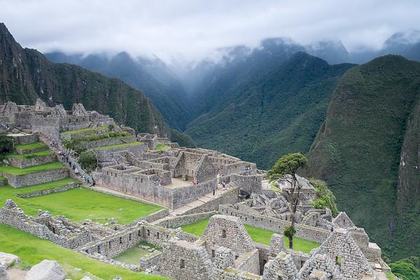 Palais de l'Incas, tombe royale, quartiers des prisons et des artisans