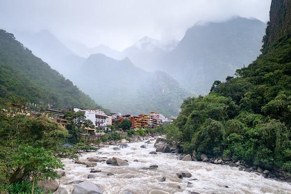 Aguas Calientes, Pérou