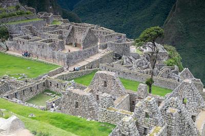 Maison de l'Incas, bains cérémoniels, quartiers du condor et des artisans