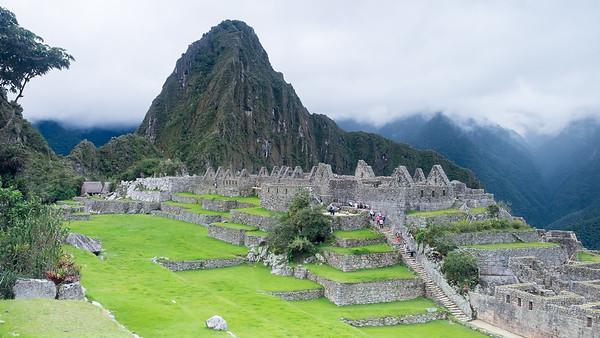 Huayna Picchu, pierre sacrée, acllawasi