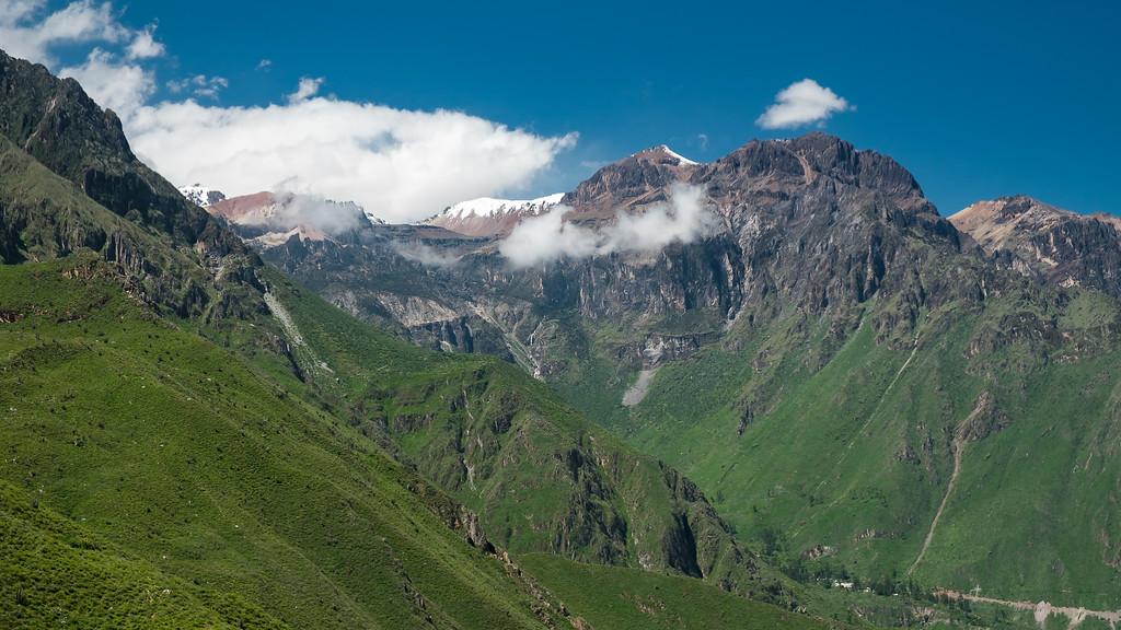 Sommets autour du canyon del Colca, Pérou