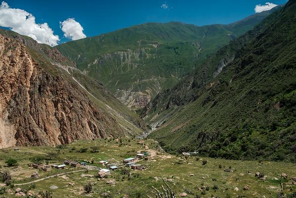 Hameau de Soro, Canyon del Colca, Pérou