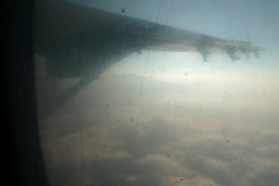 ...avion en bon état, ciel radieux, le top !