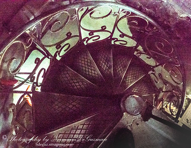 Stairs in Lucena Cathedral