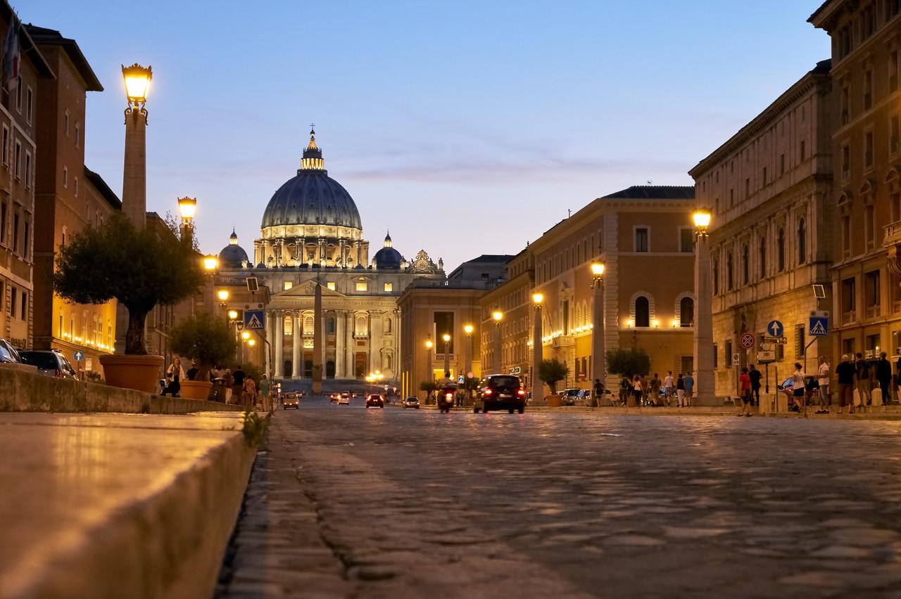 Place Saint Pierre, Rome, Italie