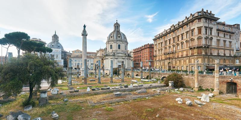 Foro Traiano, Rome, Italie