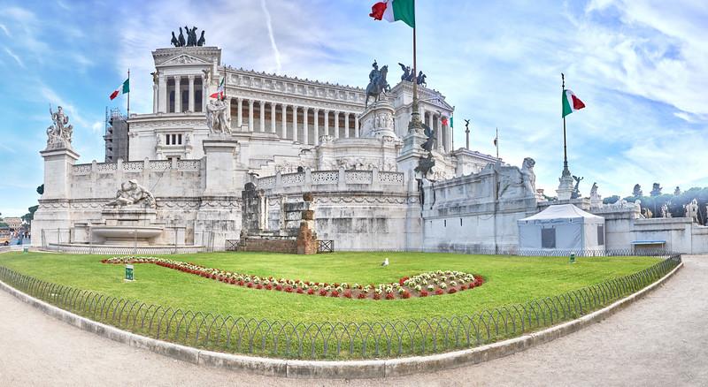 Monument à Vittorio Emanuele, Rome, Italie