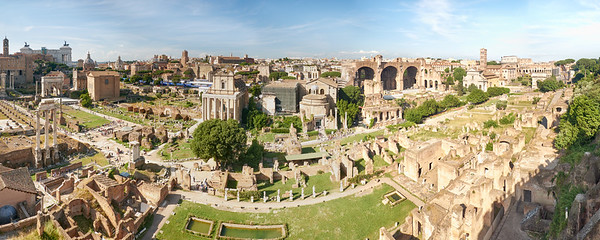 Forum Romain, Rome, Italie