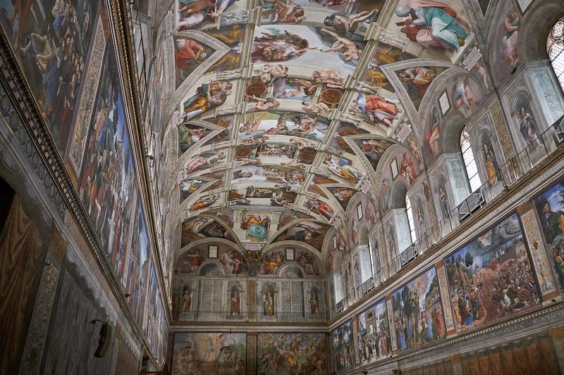 Chapelle Sixtine, Vatican, Italie