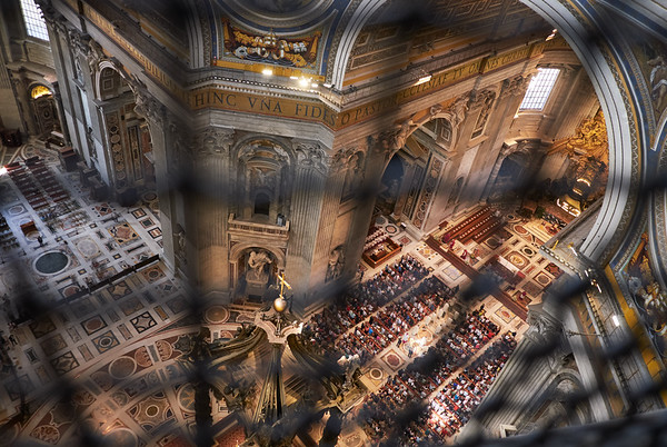 Eglise Saint Pierre, Rome, Italie