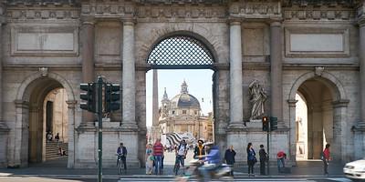 Piazza del Popolo, Rome, Italie