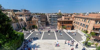Piazza di Spagna, Rome, Italie