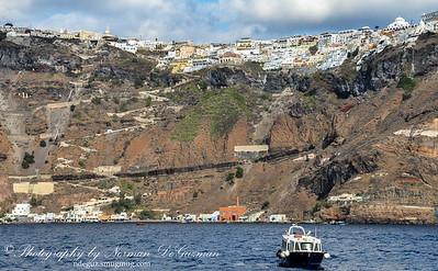 Zig zag port trail to Faros