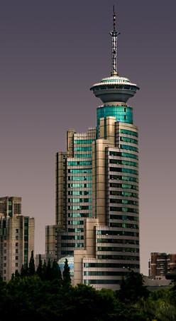 Futuristic Buildings in Shanghai