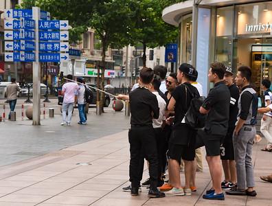 Shanghai, China.  6/23/2015