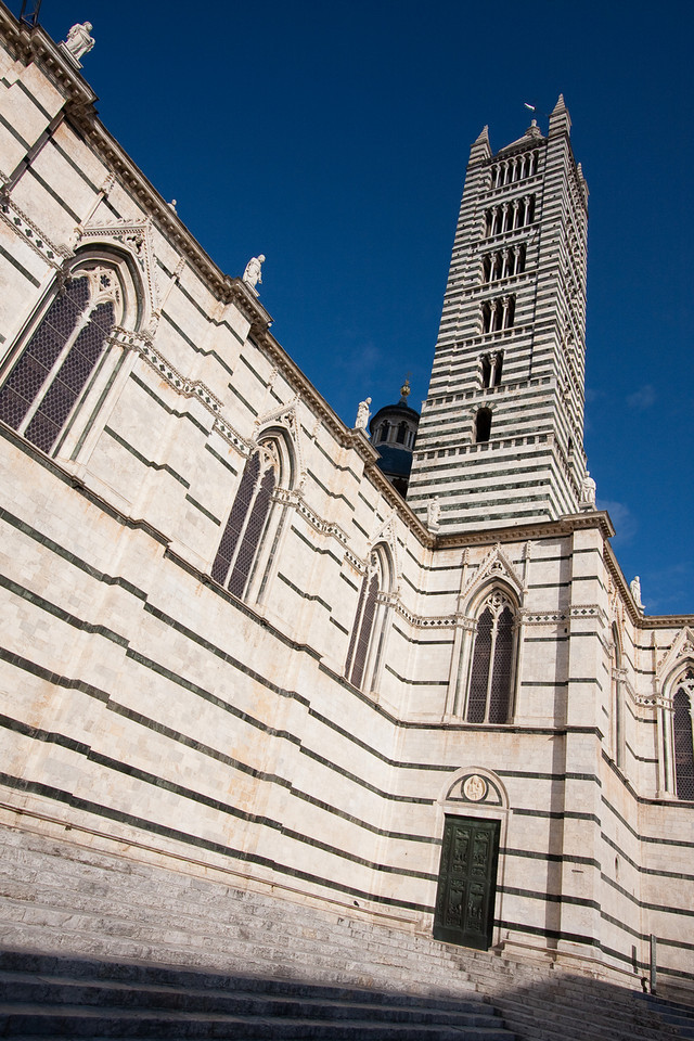 Sienne. Le Duomo.
