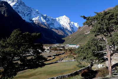 Népal: Tour du Haut Khumbu + Island Peak: Ici Thame, l'un des plus beaux villages du monde...