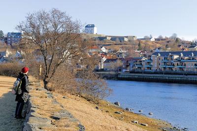 Trondheim - Mariven, les rives de la Nidelva