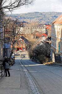 """Trondheim - Brubakken et son """"remonte-vélo"""""""