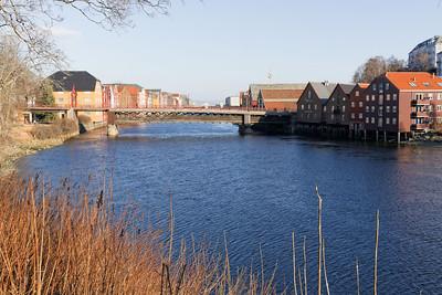 Trondheim - Bakklandet - les docks