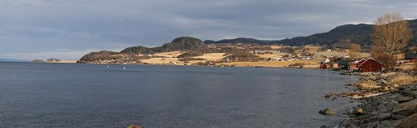 Trondheimsfjorden - Trondheim-Bjora (Fv831)