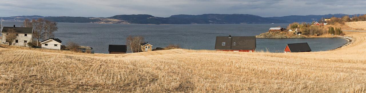 Trondheimsfjorden - Trondheim-Byabukta