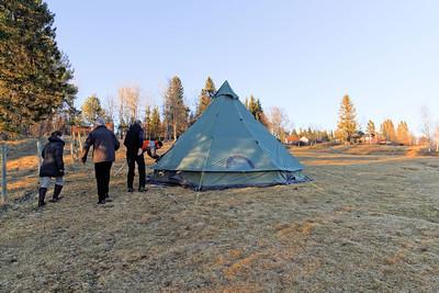 Trondheim Lian - Tente pour les futurs noceurs