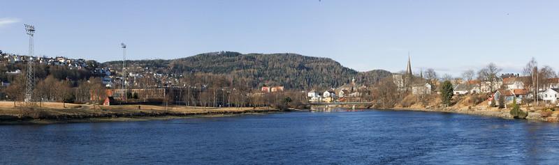 Trondheim - Quartiers Ouest