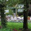 Butchart gardens.