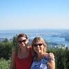 Vue de Vancouver, de North Vancouver