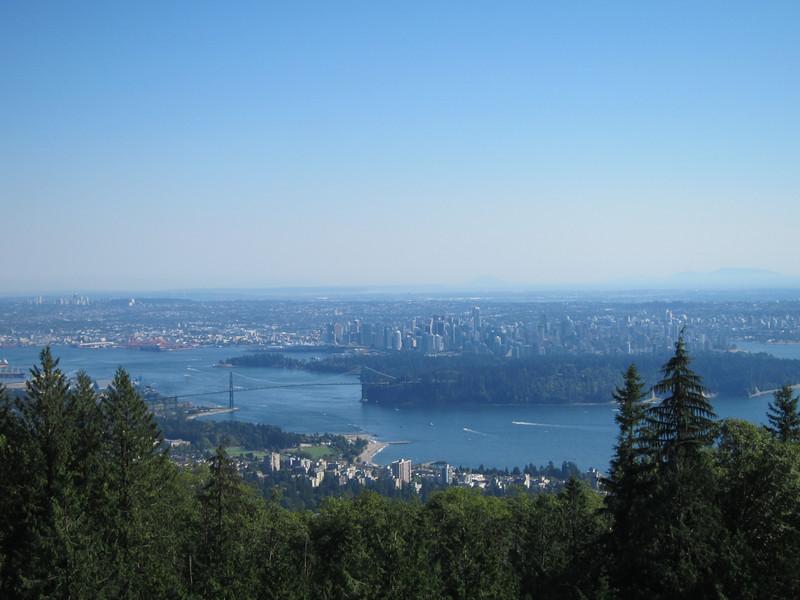 Stanley park et Vancouver.
