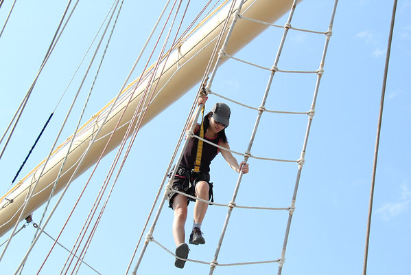 Yoshi et Yann en voilier Italie 2011