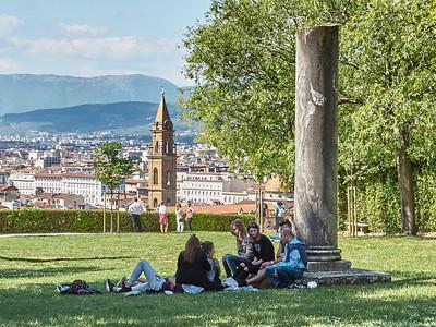 Florence: Palazzo Pitti et Giardino di Boboli