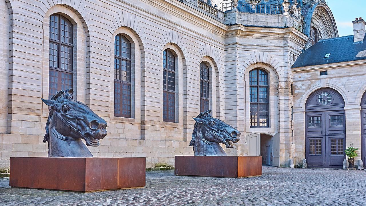 Chantilly - Grandes écuries et Musée du cheval