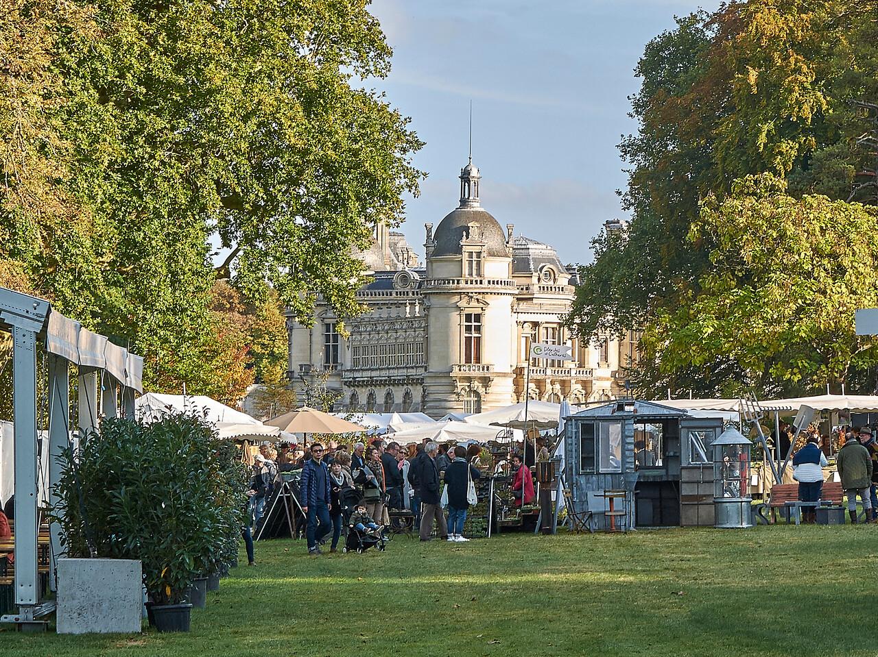 Domaine et chateau de Chantilly - Festival des plantes d'octobre 2016