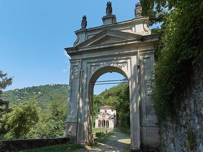 Sacro Monte di Varese -Terzo arco del rosario