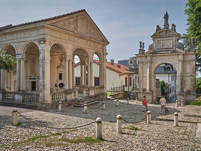 Sacro Monte di Varese - Prima capella, Primo arco del rosario