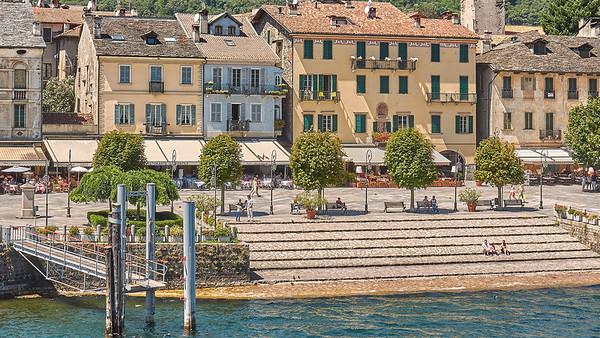 Arrivée à Cannobio - Lago Maggiore