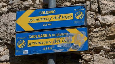 Greenway del Lago di Como - Sala Comacina
