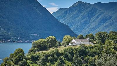 Greenway del Lago di Como - Isola Comacina, depuis Ossuccio