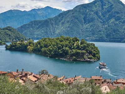 Greenway del Lago di Como - Isola Comacina