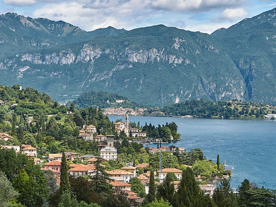 Greenway del Lago di Como - Giulino - Vue vers Tremezzo