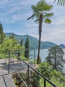 Lago di Lugano - Morcote - Parco Scherrer
