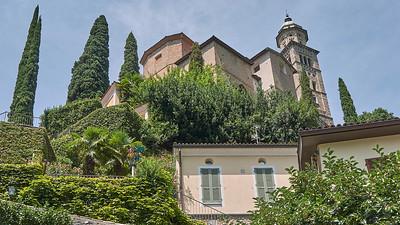 Lago di Lugano - Morcote - Chiesa Santa Maria del Sasso