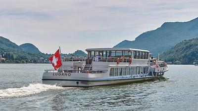 Lago di Lugano - Morcote - Vers Porto Ceresio (Italia)