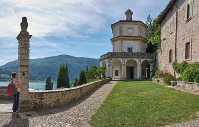 Lago di Lugano - Morcote - Oratorio Sant'Antonio da Padova