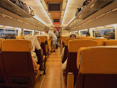 Train rapide AVE Sevilla - Cordoba - Madrid