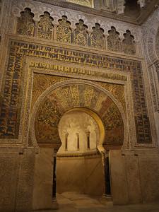 Cordoba - Mezquita / Catedral - Mihrab