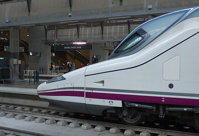 Sevilla - Estacion Santa Justa - Départ pour Cordoue
